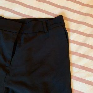 H&M Pants - H&M Trend Black Straight-fit Slacks